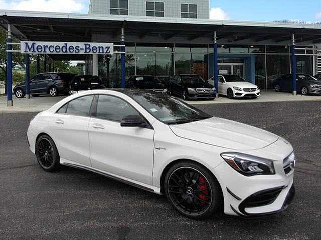 New 2018 Mercedes Benz Cla Amg Cla 45 Coupe Coupe In