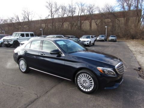 Certified Pre-Owned 2017 Mercedes-Benz C-Class C 300 Luxury